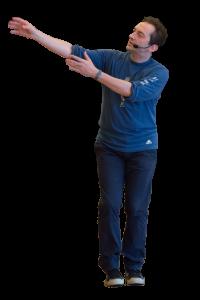 Roberto dancing